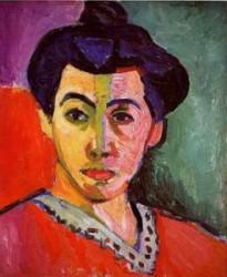 La raya verde, de Henri Matisse