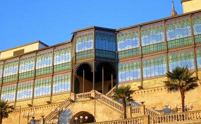 Fachada sur de la Casa Lis, en Salamanca