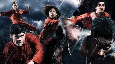 Imagen promocional de la serie Misfits