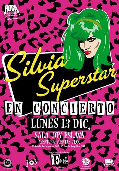 Cartel Silvia Superstar, Joy Eslava