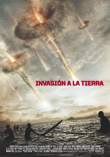 Cartel de Invasión a la tierra