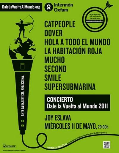 Cartel Dale La Vuelta Al Mundo 2011