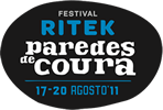 Logo Paredes de Coura 2011