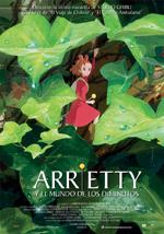 Póster de Arrietty