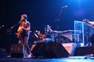 Un momento del concierto de Standstill