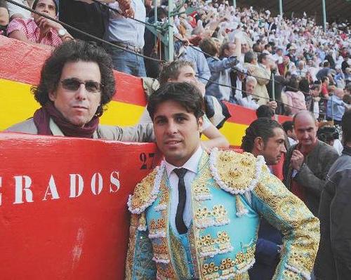 Andrés Calamaro junto a Rivera Ordoñez