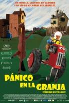 Cartel español de Pánico en la Granja