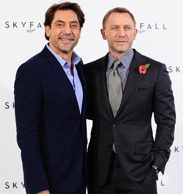 Javier Bardem y Daniel Craig