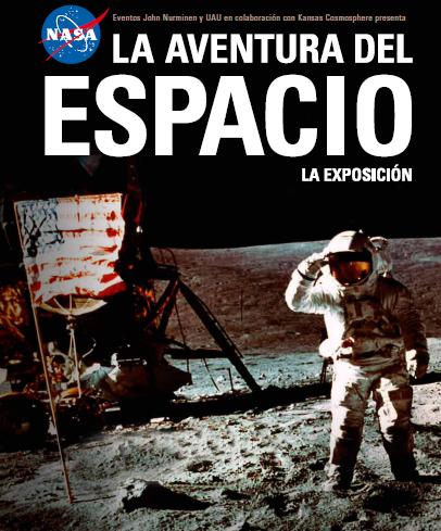 Cartel La aventura del espacio