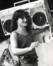 Radiocassette antiguo