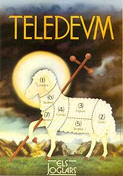 Cartel Teledeum. Els Joglars