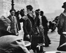 """""""El beso del Hôtel de Ville"""" de Robert Doisneau"""