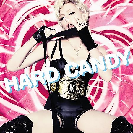 Madonna en el cover de Hard Candy