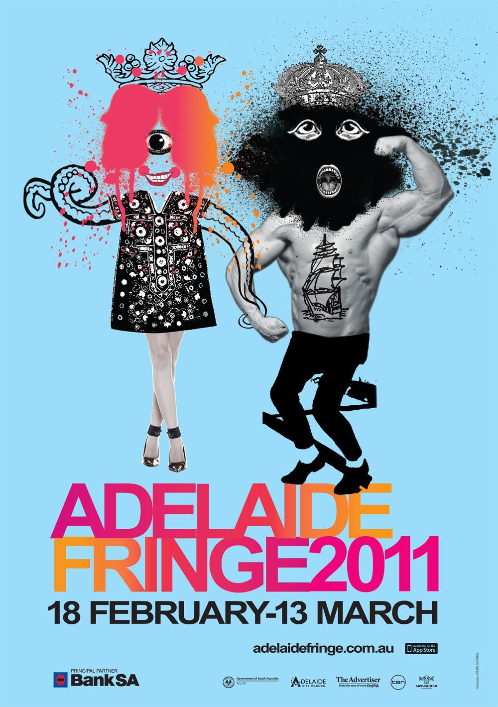 Cartel del Adelaide Fringe Festival 2011