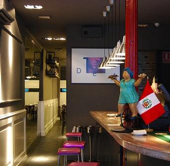 Restaurante peruano La Gorda