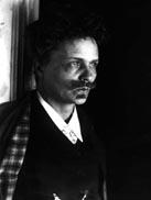 Autorretrato de August Strindberg. Fuente: Wikipedia