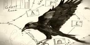 Un cuervo se posa sobre un enigmático mapa