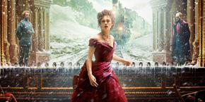 Cartel oficial película Anna Karenina