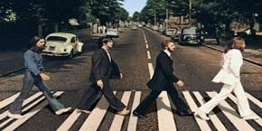 El famoso paso de cebra de los Beatles