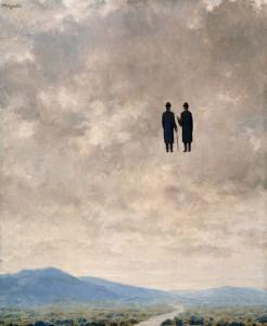 El arte de la conversación (René Magritte, 1963)