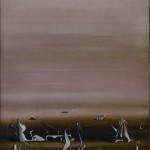 El geómetra de los sueños (Yves Tanguy, 1935)