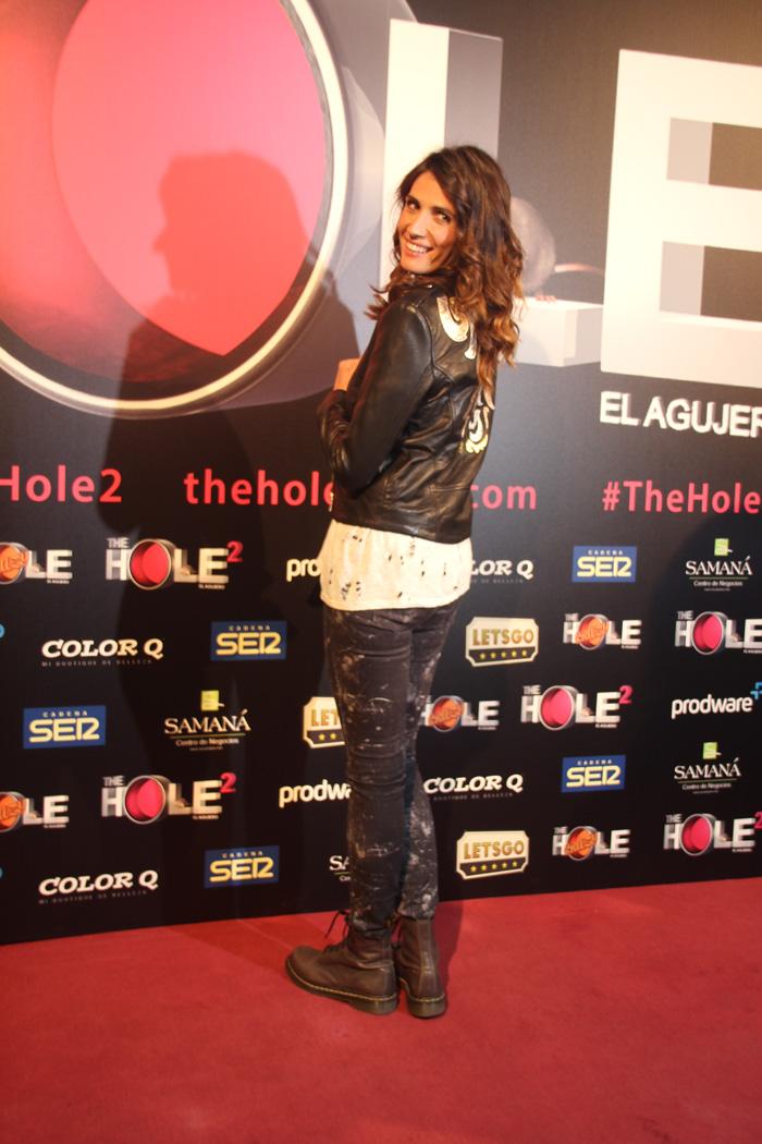 """Elia Galera en el estreno de """"The Hole 2'."""