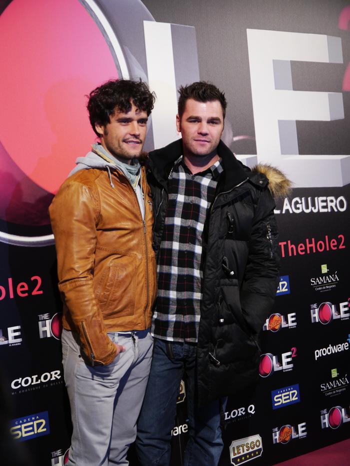 Miguel Abellán y Fonsi Nieto acudieron juntos al estreno.