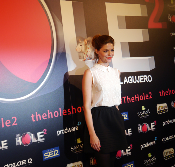 La actriz y presentadora Manuela Velasco.