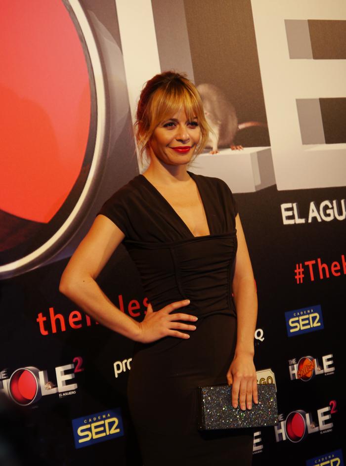 La actriz María Adánez acudió al estreno de 'The Hole 2'.
