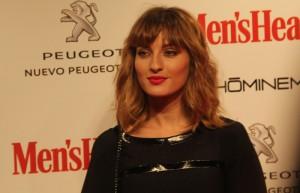María Valverde una de las premiadas del acto