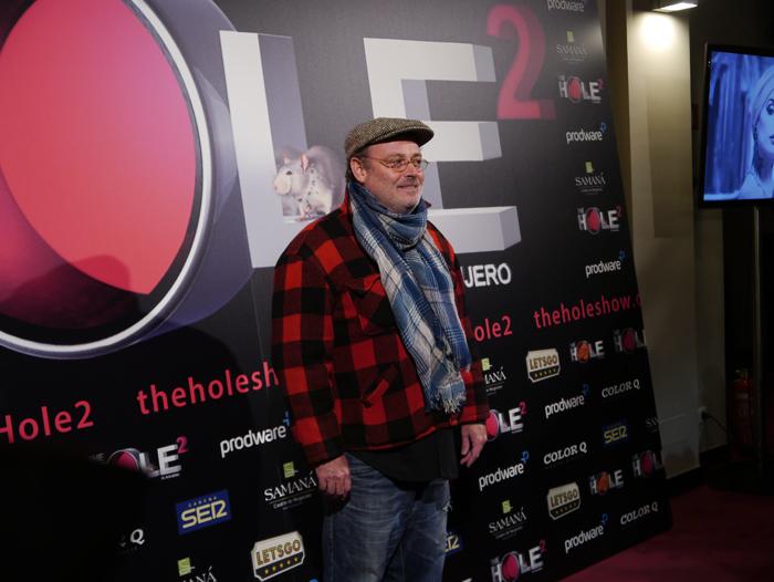 El humorista y actor Pablo Carbonell no se quisó perder el evento.