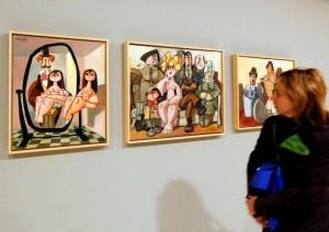 Exposición en el Alcazar de Toledo de Mingote