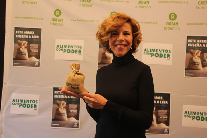 Soledad Giménez en lucha contra el hambre