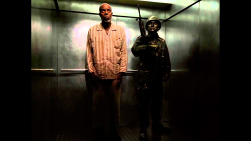 Escena del ascensor