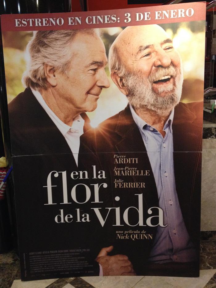 """Cartel de la película francesa """"En la flor de la vida"""""""