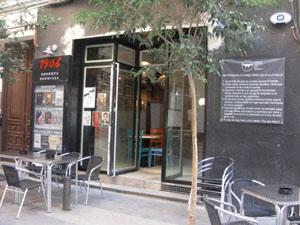Fachada de Microteatro por Dinero // Fotografía de 'Un buen día en Madrid'
