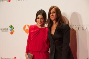 María Dueñas junto a la actriz Adriana Ugarte.