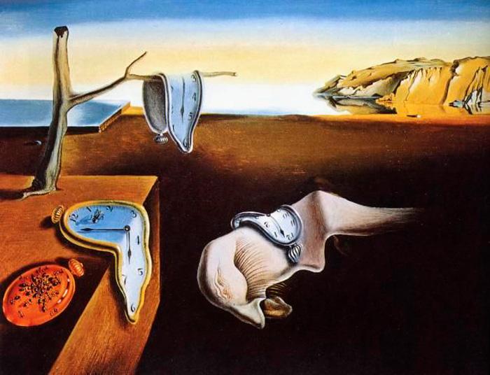 """""""La persistencia de la memoria"""" (1931)- Fuente: página web Queaprendemoshoy.com"""