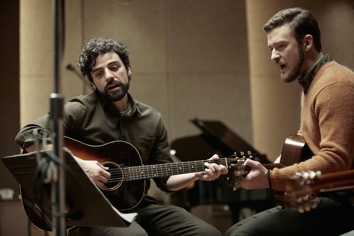 Oscar Isaac y Justin Timberlake en la nueva película de los hermanos Coen.
