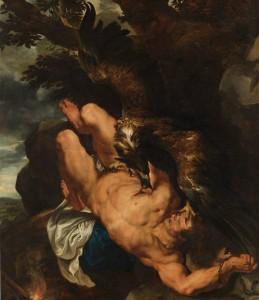 'Prometeo encadenado' (Pedro Pablo Rubens y Frans Snyders, 1611)