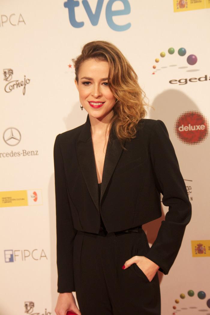 Silvia Abascal en los Premios Forqué 2014