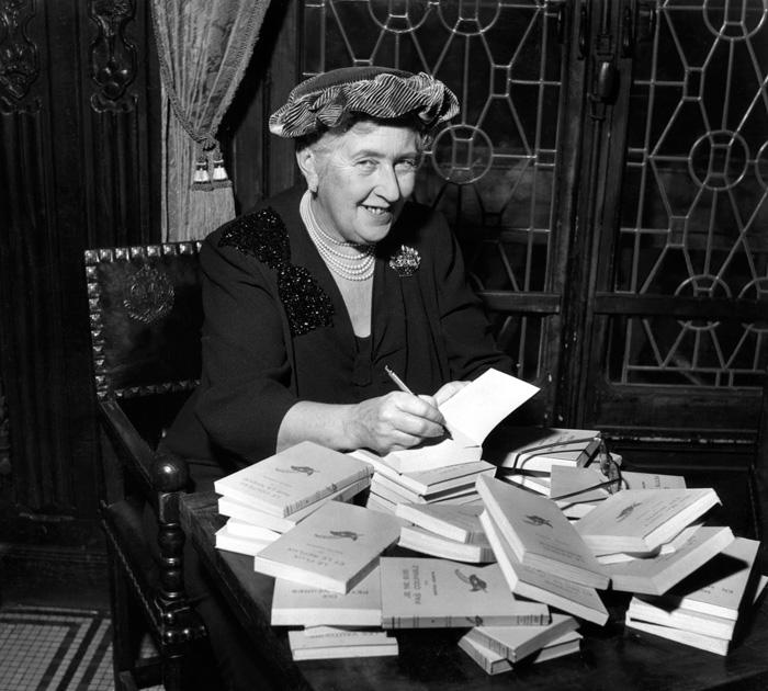 La escritora de novela negra, Agatha Christie-Fuente: blog spn314