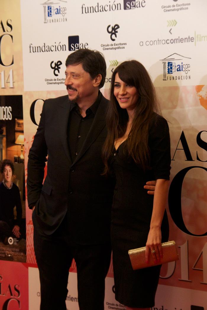 Carlos Bardem, ganador a la medalla CEC a mejor actor