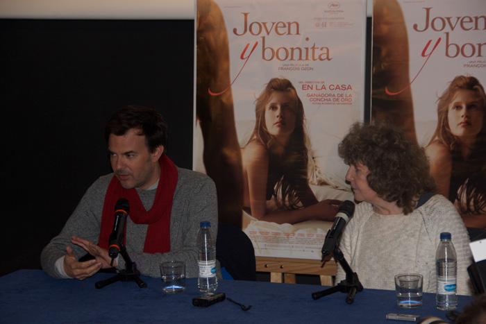 """Rueda de prensa de """"Joven y Bonita"""" con el director francés François Ozon"""