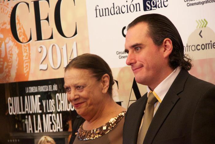 """Terele Pávez, actriz ganadora al CEC de mejor actriz secundaria por """"Las Brujas de Zugarramurdi"""""""