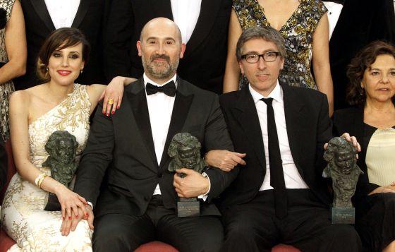 Natalia Molina, Javier Cámara y David Trueba, galardonados por Vivir es fácil con los ojos cerrados
