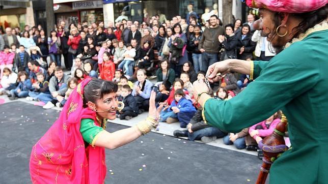 Gran éxito del teatro callejero en la edición de 2013
