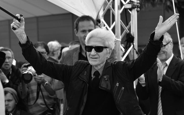 Alain Resnais en el Festival de Cannes de 2012