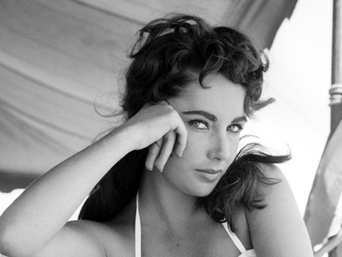 La actriz Elizabeth Taylor-Fuente:seriecinema.es