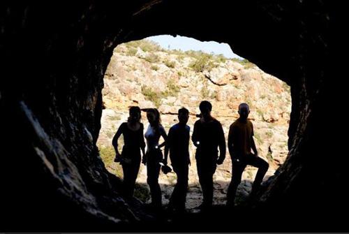 """Los protagonistas de """"La Cueva"""", film de Alfredo Montero"""